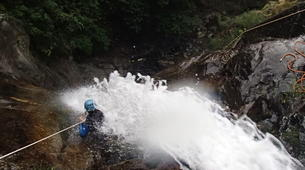 Canyoning-Prades-Canyon des Gorges de Taurinya, près de Prades-1