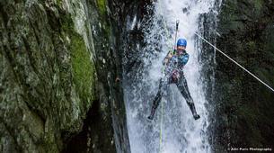 Canyoning-Tarascon-sur-Ariège-Initiation canyon de Marc in Ariège-3