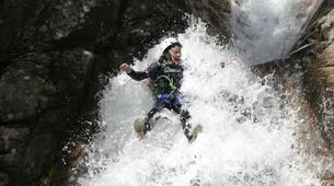 Canyoning-Aiguilles de Bavella-Canyon sportif de Purcaraccia à Bavella, Corse-6