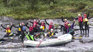 Rafting-Hardangervidda National Park-Rafting down the Numedalslågen in Dagali, Norway-4