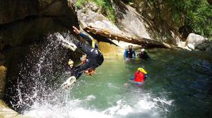 Canyoning-Laruns-Canyon de Soussouéou dans la Vallée d'Ossau, Laruns-1