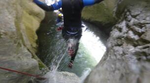 Canyoning-Laruns-Canyon de Soussouéou dans la Vallée d'Ossau, Laruns-4
