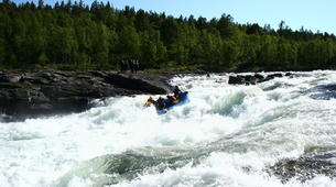 Rafting-Hardangervidda National Park-Rafting down the Numedalslågen in Dagali, Norway-1
