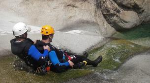 Canyoning-Aiguilles de Bavella-Canyon sportif de Purcaraccia à Bavella, Corse-8