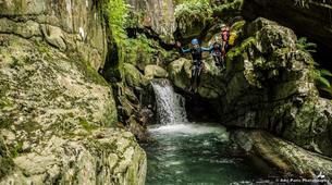 Canyoning-Tarascon-sur-Ariège-Initiation canyon de Marc in Ariège-4