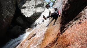 Canyoning-Aiguilles de Bavella-Canyon sportif de Purcaraccia à Bavella, Corse-7