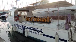Scuba Diving-Les Trois-Îlets-First dive in Martinique-1