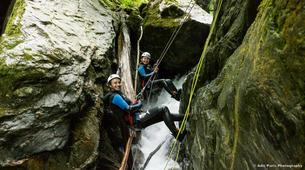 Canyoning-Tarascon-sur-Ariège-Initiation canyon de Marc in Ariège-2