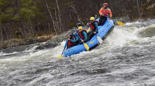 Rafting-Hardangervidda National Park-Rafting down the Numedalslågen in Dagali, Norway-6