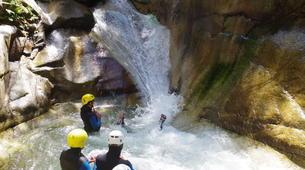 Canyoning-Laruns-Canyon de Soussouéou dans la Vallée d'Ossau, Laruns-6