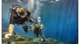 Plongée sous-marine-Baie de Saint-Leu-Plongées Exploration Guidées dans la Baie de Saint Leu, La Réunion-1