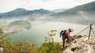 Via Ferrata-Arco-Via Ferrata Cima Capi near Arco, Lake Garda-1