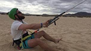 Kitesurfing-Corralejo, Fuerteventura-Beginner kitesurfing courses in Corralejo, Fuerteventura-4