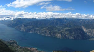 Paragliding-Lake Garda-Tandem paragliding flight over Lake Garda, Italy-3