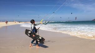 Kitesurfing-Corralejo, Fuerteventura-Beginner kitesurfing courses in Corralejo, Fuerteventura-1