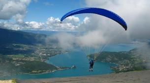 Paragliding-Grenoble-Tandem paragliding flight over Saint Hilaire du Touvet in Grenoble-6