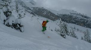 Backcountry Skiing-La Clusaz, Massif des Aravis-Backcountry skiing initiation in La Clusaz-6