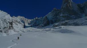 Ski Hors-piste-Chamonix Mont-Blanc-Descente de la Vallée Blanche à Chamonix-5