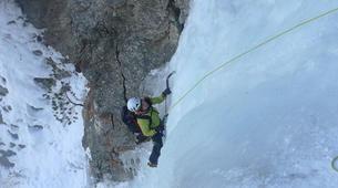 Ice Climbing-Chamonix Mont-Blanc-Ice fall climbing in Chamonix-1