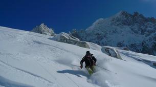 Ski Hors-piste-Chamonix Mont-Blanc-Descente de la Vallée Blanche à Chamonix-1
