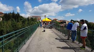 Saut à l'élastique-Lyon-Saut à l'élastique du Viaduc de Pelussin (65 mètres), près de Lyon-4