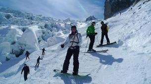 Ski Hors-piste-Chamonix Mont-Blanc-Descente de la Vallée Blanche à Chamonix-3