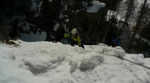 Ice Climbing-Chamonix Mont-Blanc-Ice fall climbing in Chamonix-4