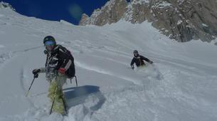 Ski Hors-piste-Chamonix Mont-Blanc-Descente de la Vallée Blanche à Chamonix-6