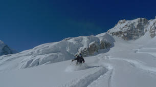 Ski Hors-piste-Chamonix Mont-Blanc-Descente de la Vallée Blanche à Chamonix-4