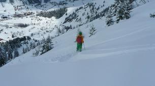 Backcountry Skiing-La Clusaz, Massif des Aravis-Backcountry skiing initiation in La Clusaz-5