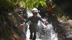 Canyoning-Le Morne-Vert-Canyon de la Rivière Mitan en Martinique-5