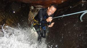 Canyoning-Le Morne-Vert-Canyon de la Rivière Mitan en Martinique-4