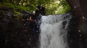 Canyoning-Le Morne-Vert-Canyon de la Rivière Mitan en Martinique-3