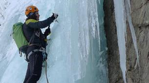 Ice Climbing-Chamonix Mont-Blanc-Ice fall climbing in Chamonix-6