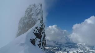 Backcountry Skiing-La Clusaz, Massif des Aravis-Backcountry skiing initiation in La Clusaz-2