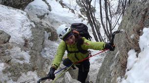 Ice Climbing-Chamonix Mont-Blanc-Ice fall climbing in Chamonix-2