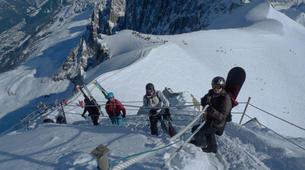 Ski Hors-piste-Chamonix Mont-Blanc-Descente de la Vallée Blanche à Chamonix-2
