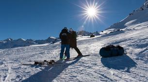 Parapente-Val Thorens, Les Trois Vallées-Vol Hiver Parapente Biplace à Val Thorens-5