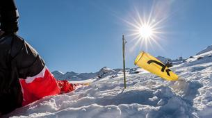 Parapente-Val Thorens, Les Trois Vallées-Vol Hiver Parapente Biplace à Val Thorens-11