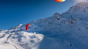 Parapente-Val Thorens, Les Trois Vallées-Vol Hiver Parapente Biplace à Val Thorens-2