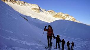 Ski de Randonnée-Font Romeu-Ski de Randonnée autour de Font-Romeu dans les Pyrénées-5