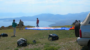 Paragliding-Delphi-Tandem paragliding flight in Delphi, Greece-8
