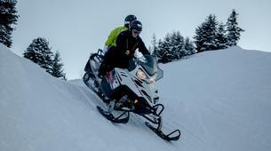 Motoneige-La Plagne, Paradiski-Randonnée en motoneige à La Plagne, en Savoie-6