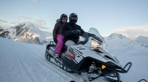 Motoneige-La Plagne, Paradiski-Randonnée en motoneige à La Plagne, en Savoie-5