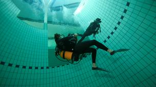 Plongée sous-marine-Paris-Baptême de Plongée sous marine en piscine près de Paris-5