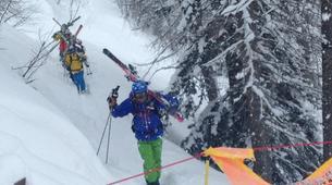 Ski Hors-piste-Val d'Isère, Espace Killy-Ski hors-piste à Val d'Isère, Haute Tarentaise-5