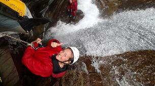Canyoning-Cirque de Salazie, Hell-Bourg-Canyon Trou Blanc in Reunion Island-5