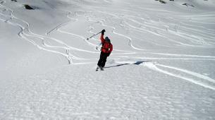 Ski Hors-piste-Val d'Isère, Espace Killy-Ski hors-piste à Val d'Isère, Haute Tarentaise-2