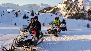 Motoneige-La Plagne, Paradiski-Randonnée en motoneige à La Plagne, en Savoie-2