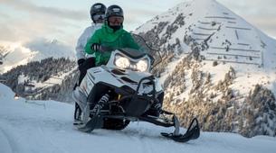 Motoneige-La Plagne, Paradiski-Randonnée en motoneige à La Plagne, en Savoie-4
